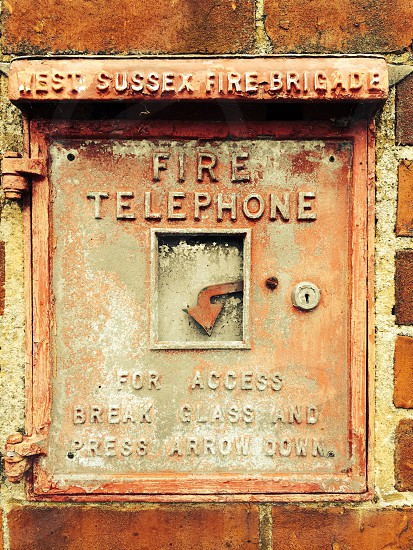 Fire telephone photo