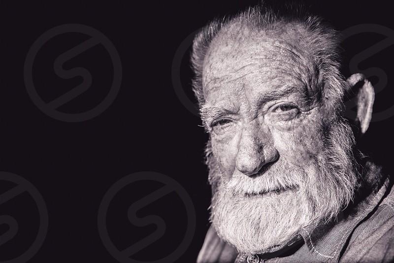 bearded man portrait photo