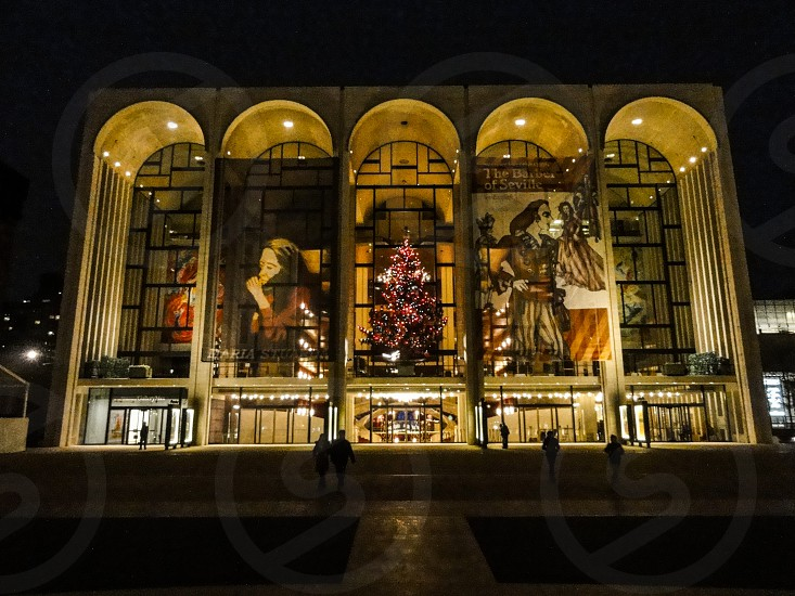 Lincon Center for the Performing Arts - Upper West Side New York USA photo