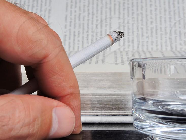 glass ashtray photo