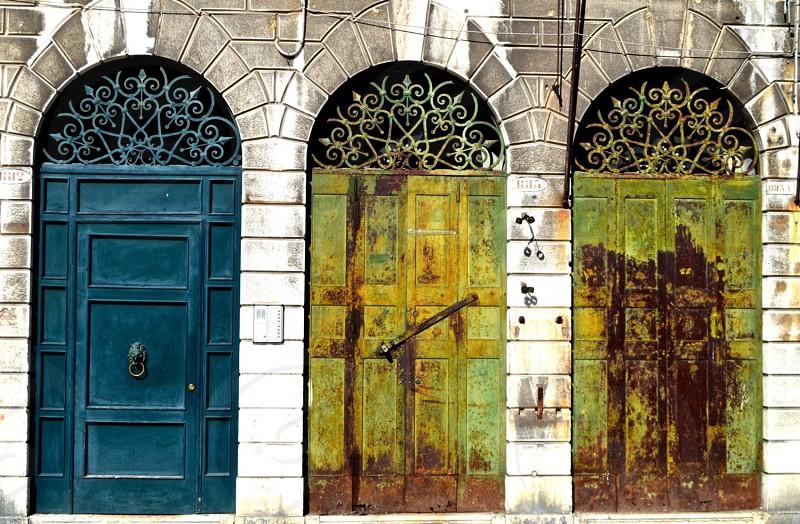 Venice antique doors travel photo