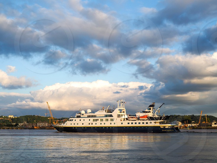 National Geographic Orion Cruising along the River Garonne photo