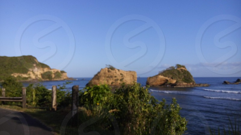 Picturesque view of islets photo
