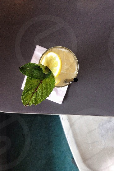 summer cocktail mint drink  photo