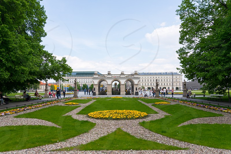 Tomb of the Unknown Soldier in Warsaw Poland photo