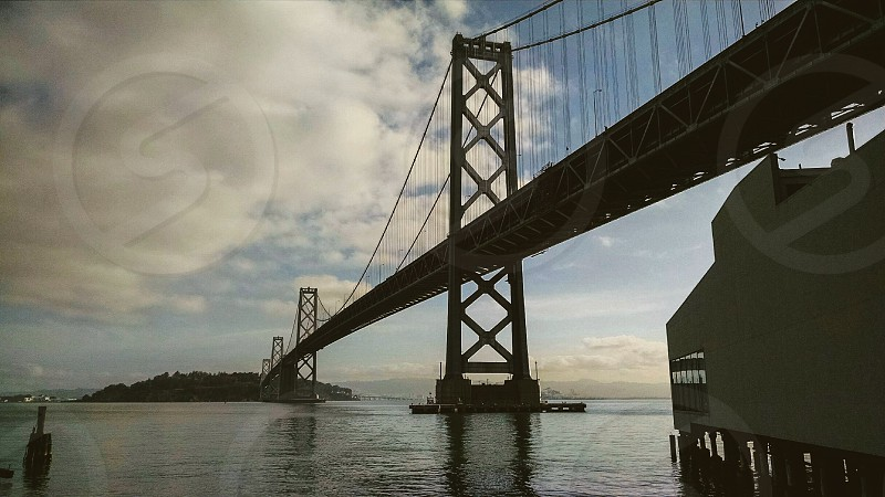 San Francisco bridge water California travel photo