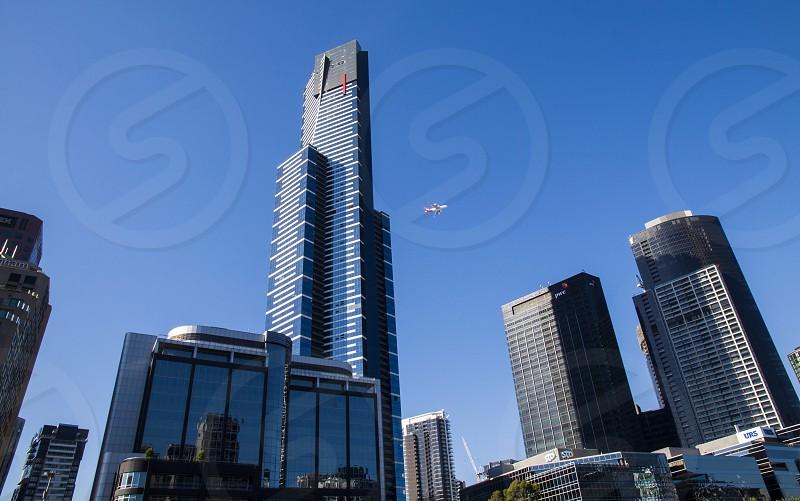 Eureka Tower Melbourne Australia. photo