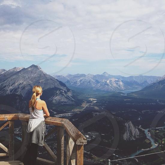 mountain view photo