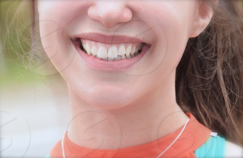 health young healthy smile photo