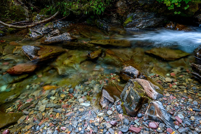 Coloured Stones in Holland Creek photo