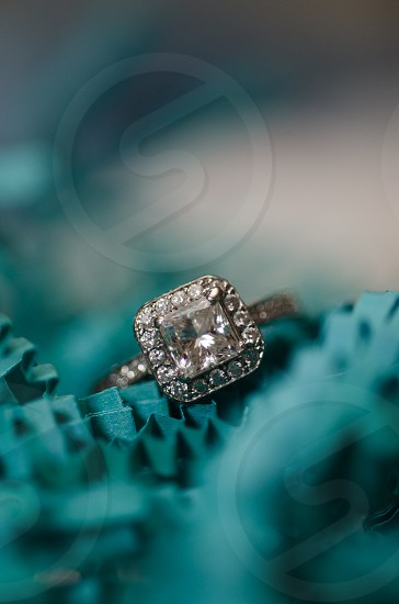 Wedding ring close up photo