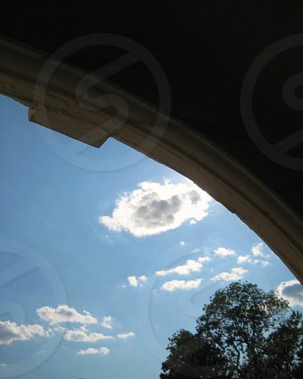 Arch sky photo