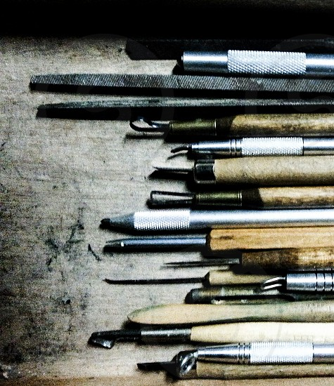 Woodworking tools precision woodworking tools wood design wood carving tools of the trade photo