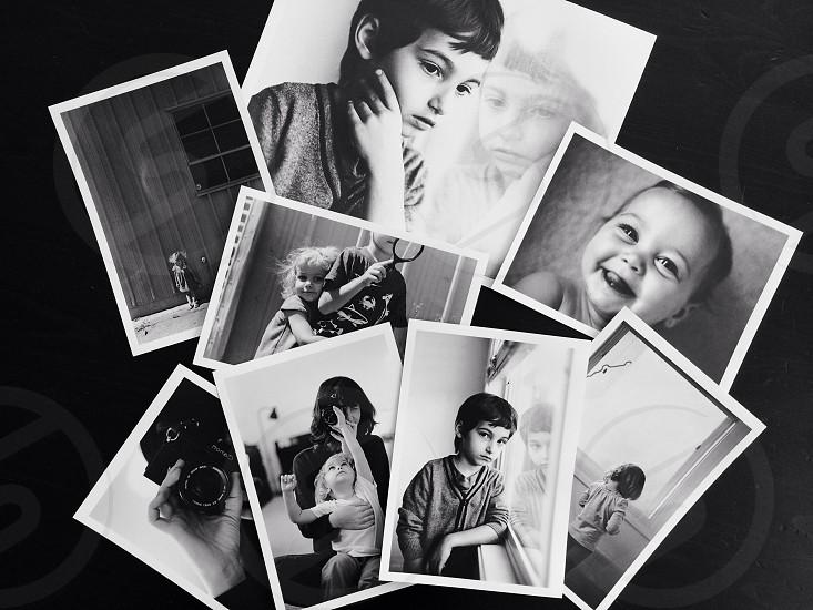 Handmade darkroom prints. photo