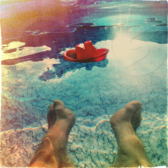 Relaxing. Summer.  photo