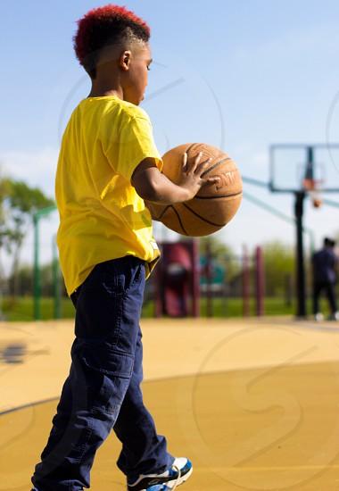 Basketball kids fun  photo