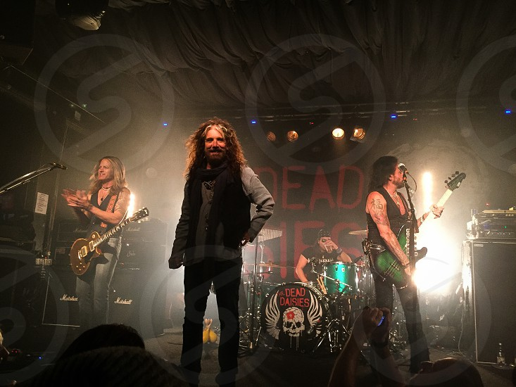 The Dead Daisies John Corabai Marco Mendoza Doug Aldrich David Lowy Brian Tichy rock and roll rock band live music guitars bass drums lights make some noise photo
