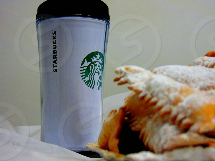 Have some sweet and coffee photo