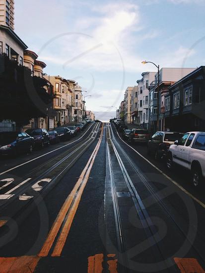 San Francisco roads always have an adventure  photo