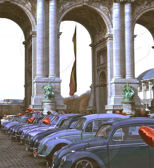 Belgium Volkswagen VW beetle Brussels photo