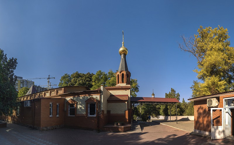 Odessa Ukraine - 10.03.2018. Church of the Holy Michael located in in Odessa Ukraine photo