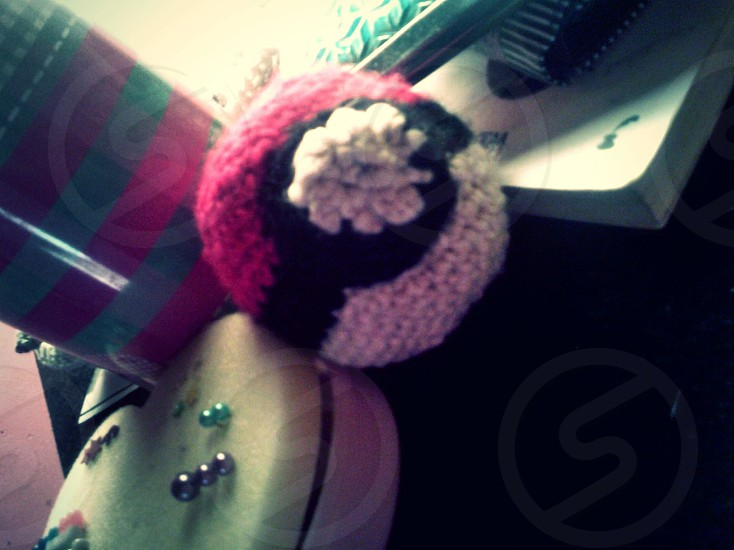 Crochet pokeball photo