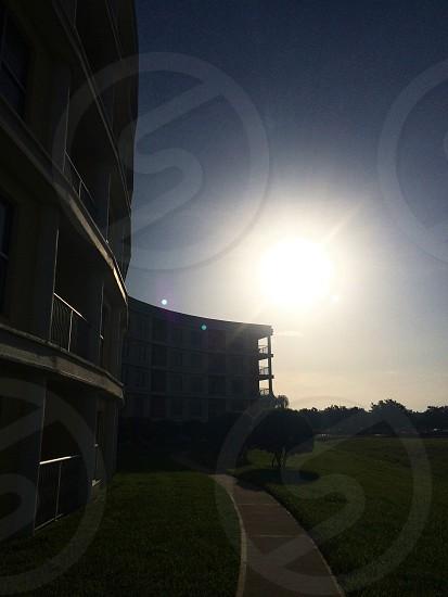 Sunrise over Celebration Florida photo