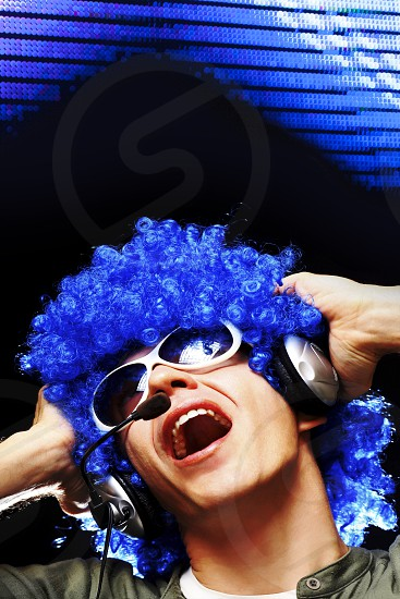 DJ in club photo