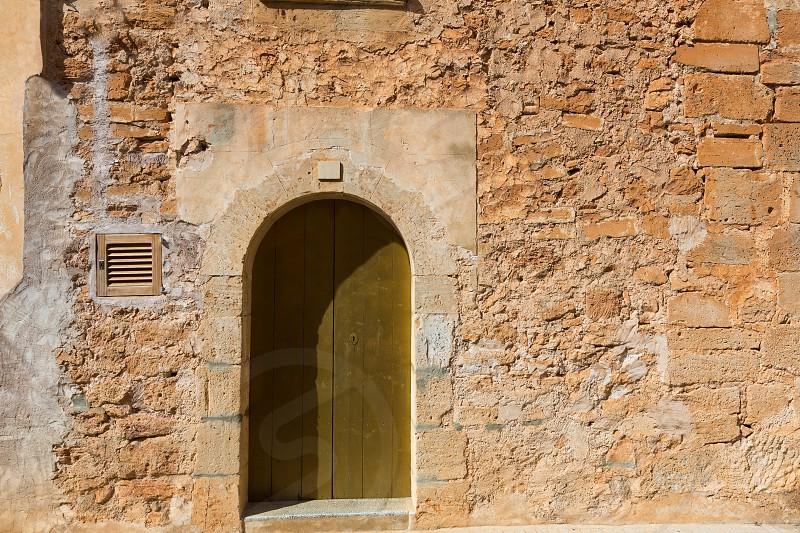 Majorca Santanyi village in Mallorca Balearic islands of Spain photo