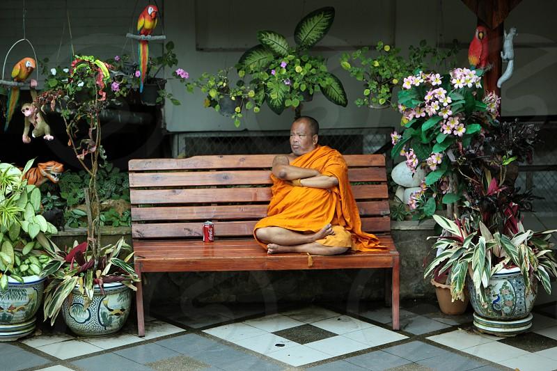Die Architektur des Wat Phra That Doi Suthep Tempel in Chiang Mai im Norden von Thailand.  photo