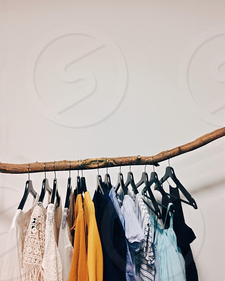 clothes hanger photo