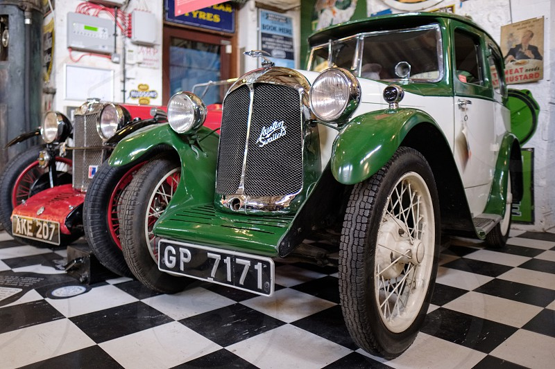 Austin Swallow in the Motor Museum at Bourton-on-the-Water photo