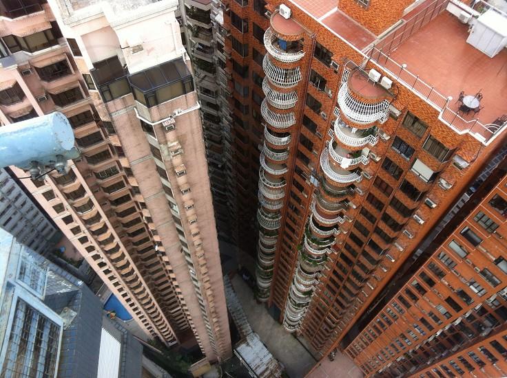 View from Hong Kong hotel photo