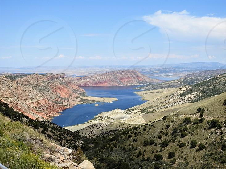 Steinaker Reservoir Vernal Utah photo