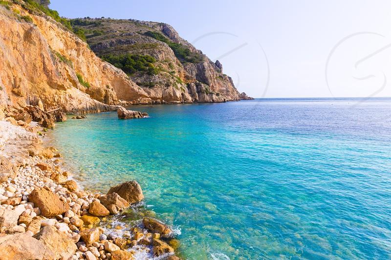 Javea Xabia Playa Tango beach in Alicante Mediterranean Spain photo