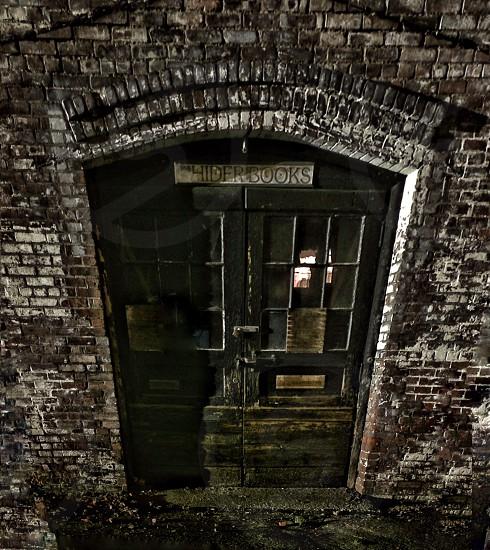 Door old door abandoned ominous door photo