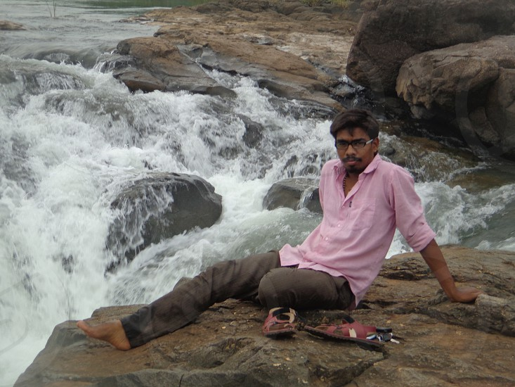 water fall in my village photo