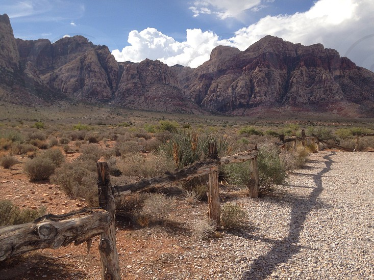 Red Rock Canyon Park Nevada photo