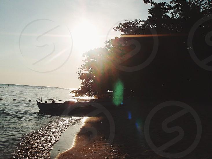 Beach walks Zambales Philippines photo