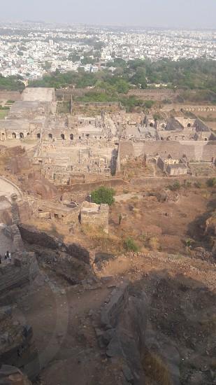 Golkonda FortHyderabadIndia. photo