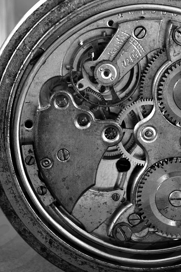 Concepts that Sell clock mechanism gears open vintage direction photo