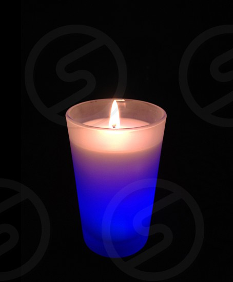 Energy light flame glow candle photo
