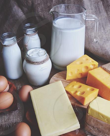 Dairy overload  photo