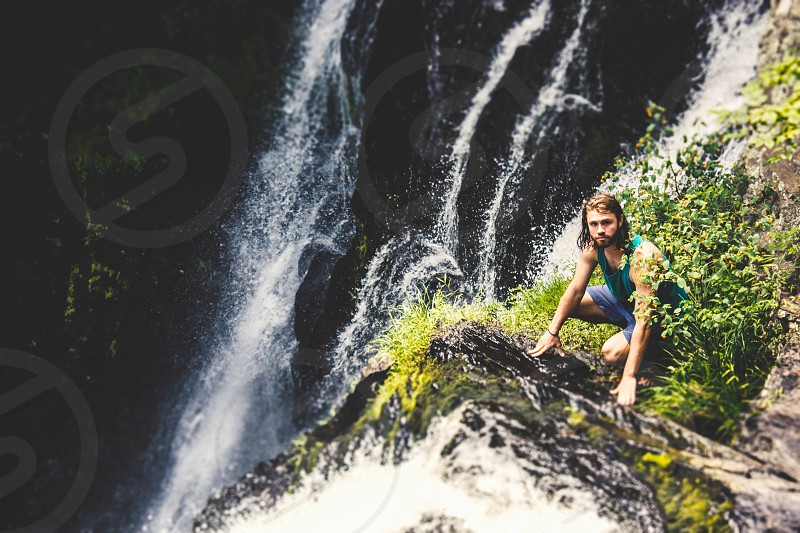 Waterfalls New York nature adventure exploration summer rocks mountains life Tarzan wild cool water photo