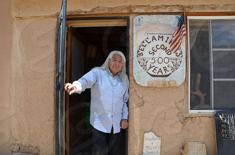 Acoma Pueblo Resident Since Birth.  photo