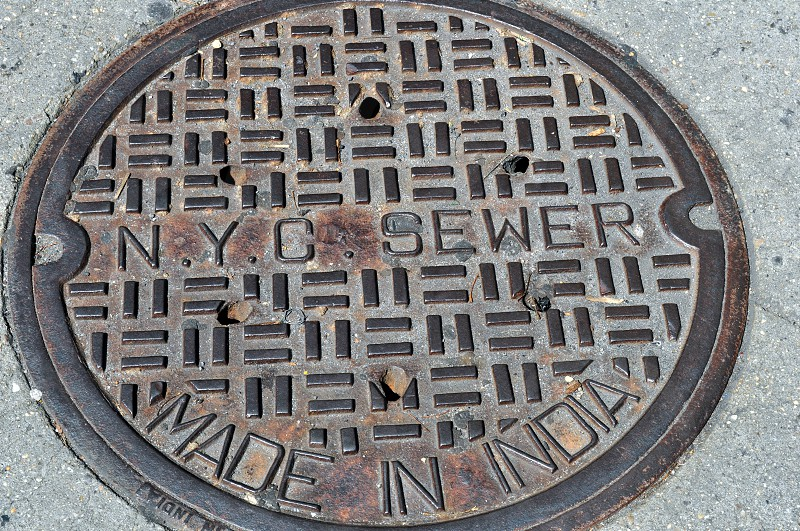 NYC Sewer Cover photo