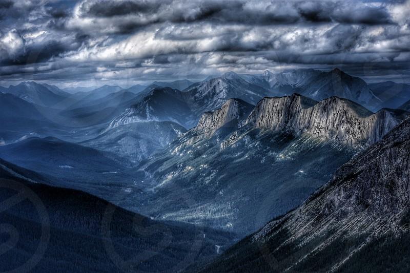 jasper alberta sulphur skyline trail hiking photo