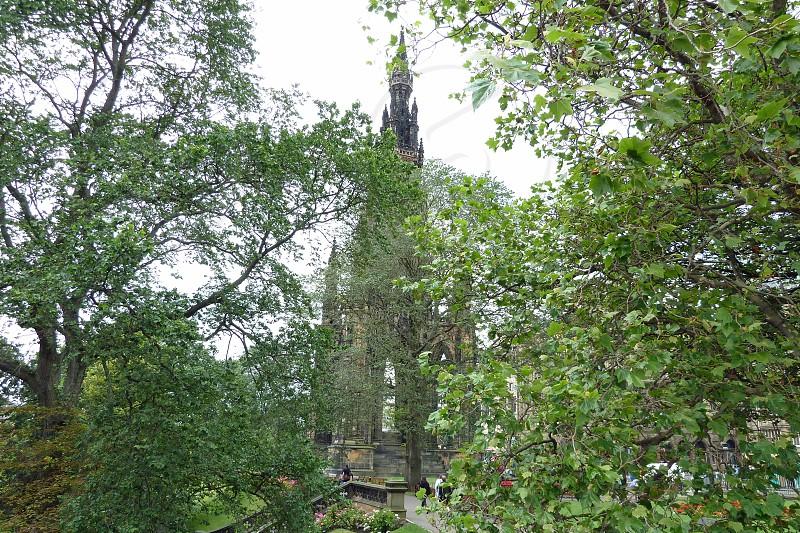 Princess Street Edinburgh Scotland photo
