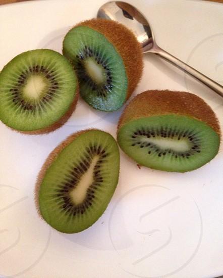 Kiwi fruit breakfast photo