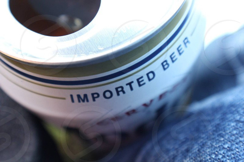 imported beer label photo